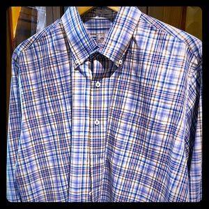 Peter Millar LS Plaid Shirt
